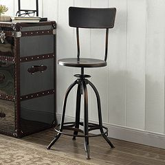 Wyndall Adjustable Metal Stool