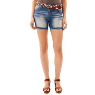 Juniors' Wallflower Luscious Curvy Midi Shorts