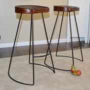 Saga Bar Stool 2-piece Set