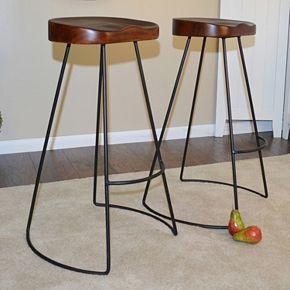 Saga Bar Stool 2-piece Set