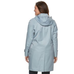 Plus Size Towne by London Fog Hooded Walker Jacket