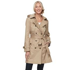 Womens Trench Coats &amp Jackets - Outerwear Clothing | Kohl&39s