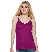 Juniors' Mudd® Double V-Neck Camisole