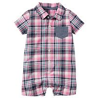 Baby Boy Carter's Plaid Romper