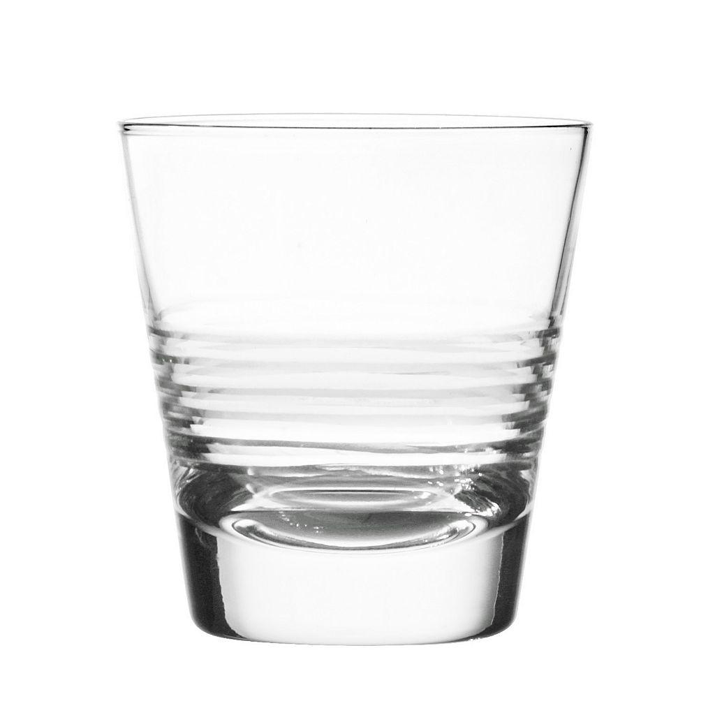 Qualia Scandal 4-pc Double Old-Fashioned Glass Set