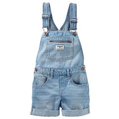 Girls 4-8 OshKosh B'gosh® Denim Shortalls