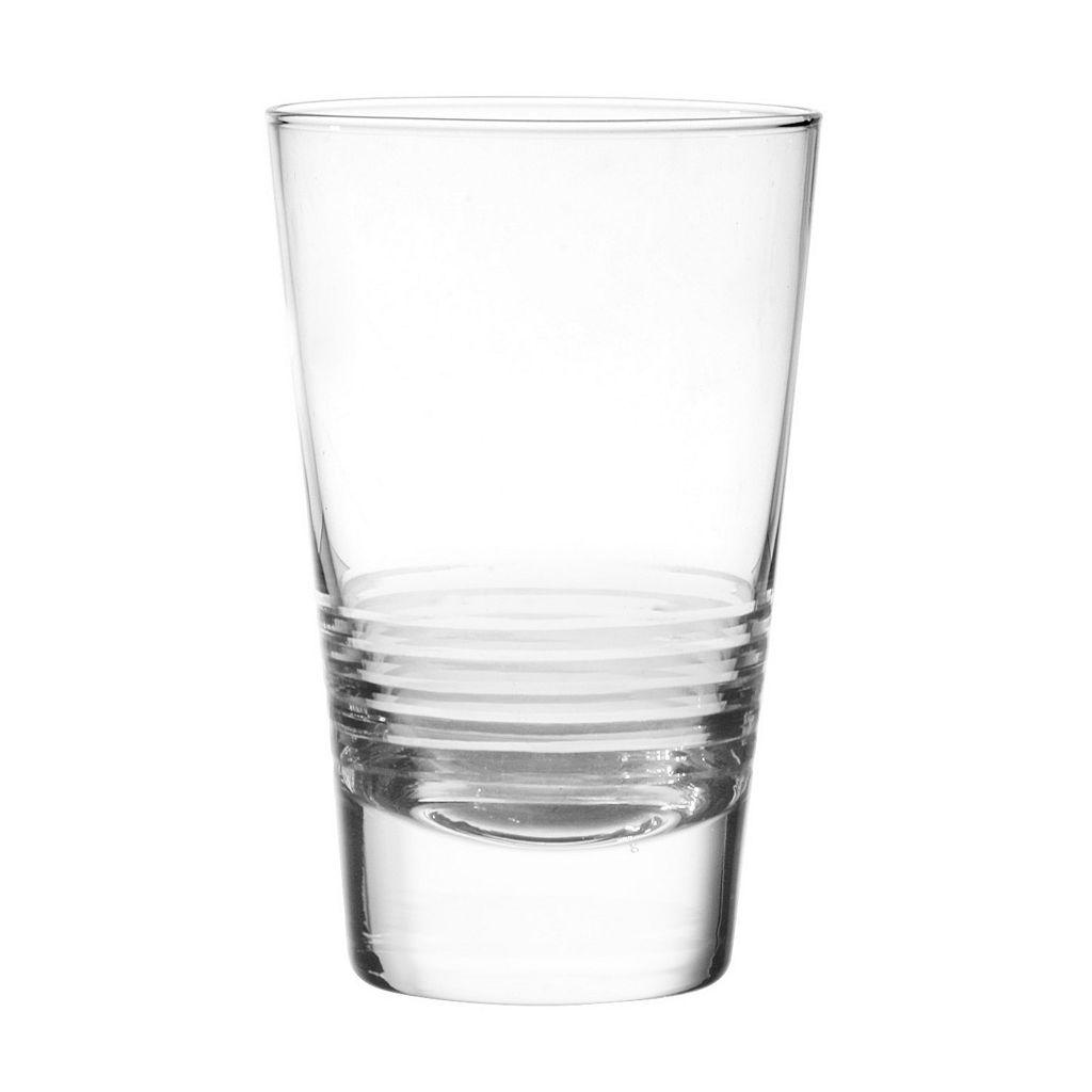Qualia Scandal 4-pc. Highball Glass Set