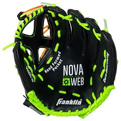 Franklin Sports 10-Inch Novaweb Custom Series Right Hand Throw Baseball Glove