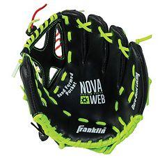 Franklin Sports 9-Inch Novaweb Custom Series Right Hand Throw Baseball Glove