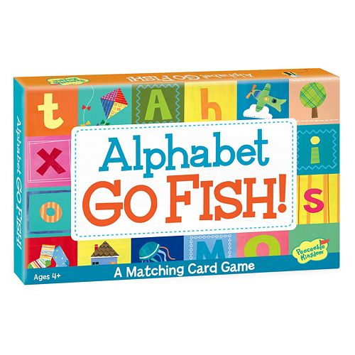 Alphabet Go Fish! Card Game by Peaceable Kingdom