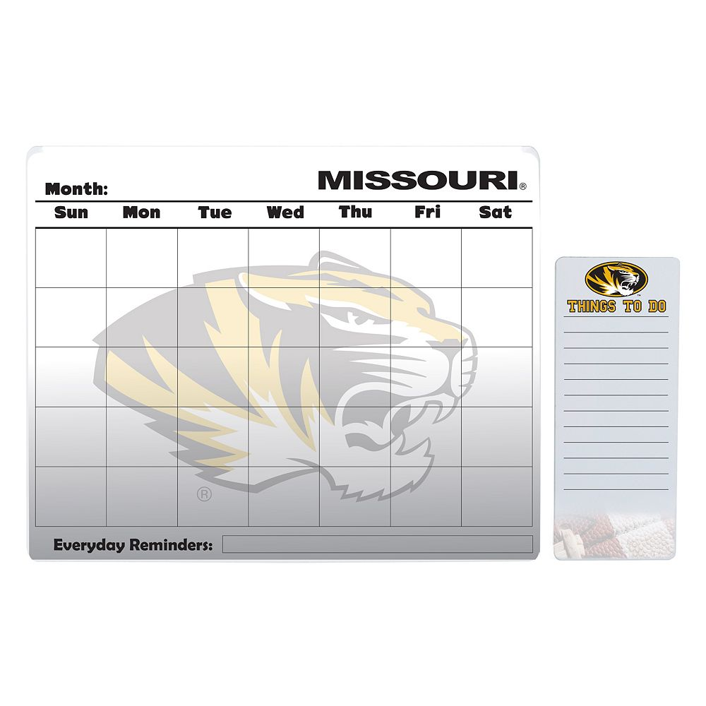 Missouri Tigers Magnetic Dry Erase Calendar & To-Do Board Set