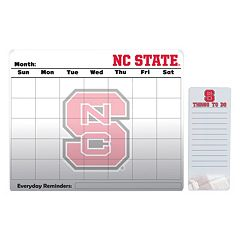 North Carolina State Wolfpack Magnetic Dry Erase Calendar & To-Do Board Set