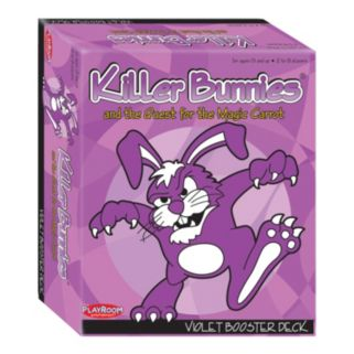 Killer Bunnies and the Quest for the Magic Carrot Violet Booster Deck by Playroom Entertainment