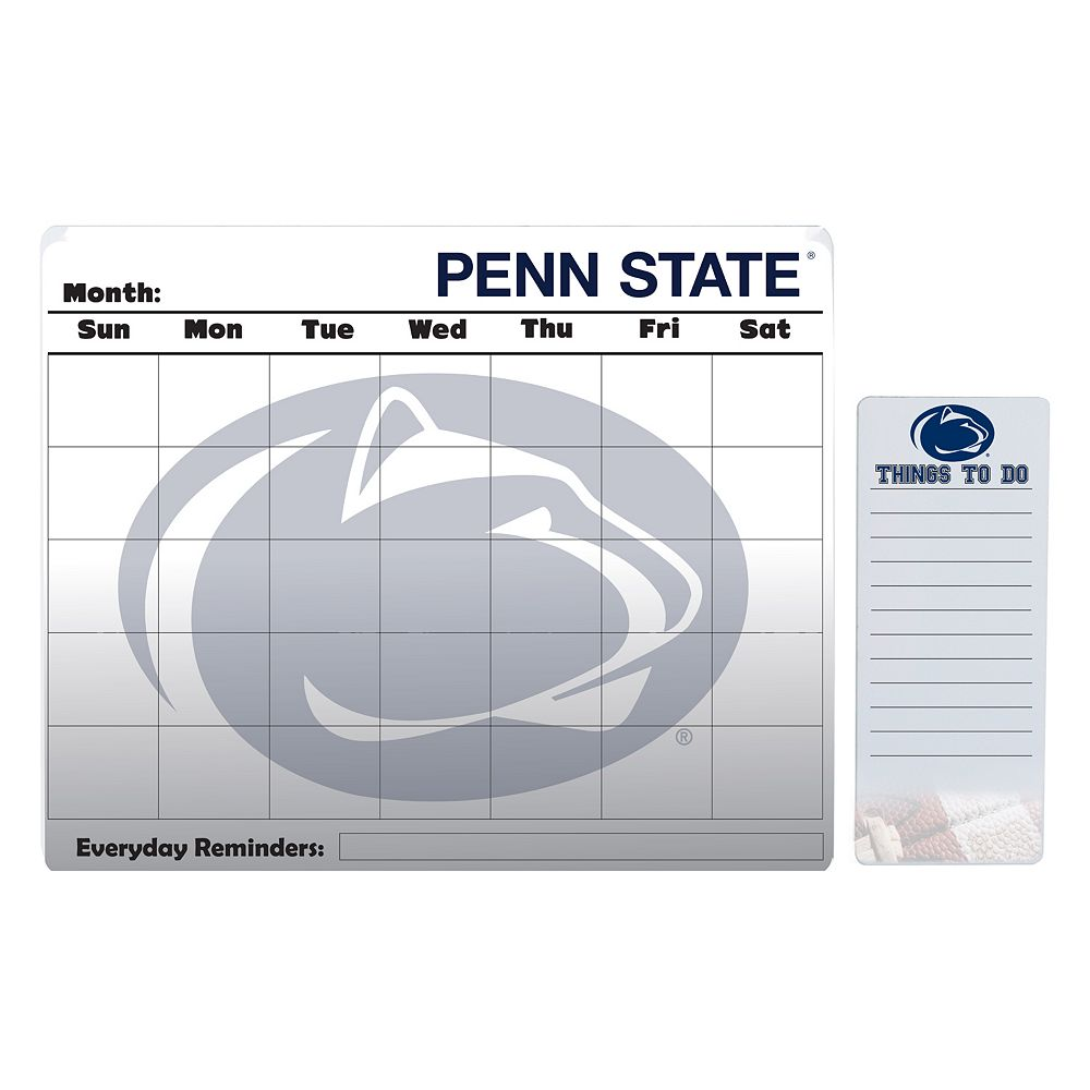 Penn State Nittany Lions Magnetic Dry Erase Calendar & To-Do Board Set