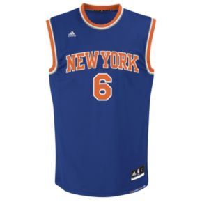 Men's adidas New York Knicks Kristaps Porzingis NBA Replica Jersey
