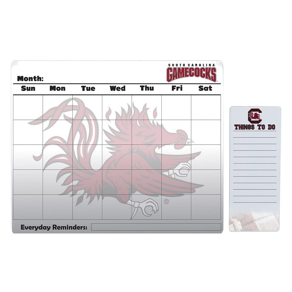 South Carolina Gamecocks Magnetic Dry Erase Calendar & To-Do Board Set