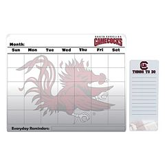 South Carolina Gamecocks Magnetic Dry Erase Calendar & To-Do Board Set
