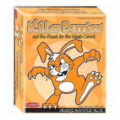 Killer Bunnies and the Quest for the Magic Carrot Orange Booster Deck by Playroom Entertainment