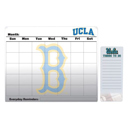 UCLA Bruins Magnetic Dry Erase Calendar & To-Do Board Set