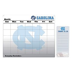 North Carolina Tar Heels Magnetic Dry Erase Calendar & To-Do Board Set