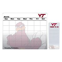 Virginia Tech Hokies Magnetic Dry Erase Calendar & To-Do Board Set