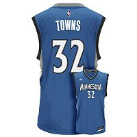 Men's adidas Minnesota Timberwolves Kari-Anthony Towns NBA Replica Jersey