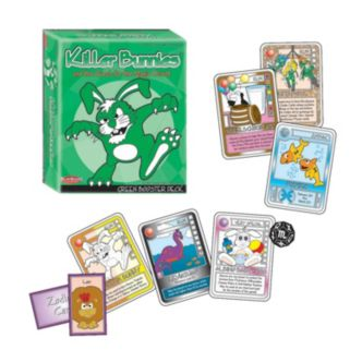Killer Bunnies and the Quest for the Magic Carrot Green Booster Deck by Playroom Entertainment