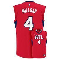 Men's adidas Atlanta Hawks Paul Millsap NBA Replica Jersey