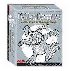 Killer Bunnies and the Quest for the Magic Carrot Stainless Steel Booster Deck by Playroom Entertainment
