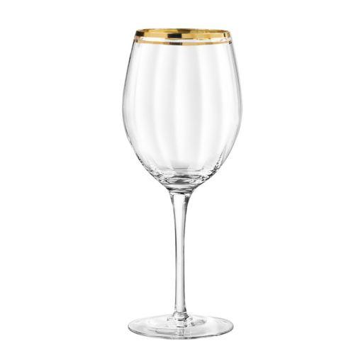 Qualia Tivoli Gold 4-pc. All-Purpose Wine Glass Set