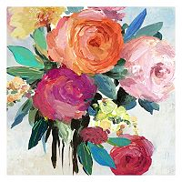 Spring Florals Canvas Wall Art