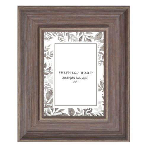 "Belle Maison 5"" x 7"" Brown Frame"