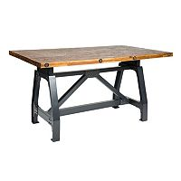 INK+IVY Lancaster Industrial Dining Table