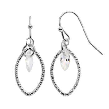 LC Lauren Conrad Cubic Zirconia Marquise Drop Earrings