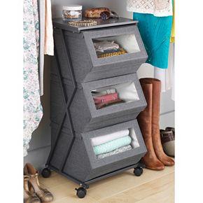 Whitmor Stackable Window Box Cart