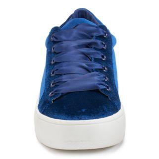 Candie's® Crater Women's Velvet Sneakers