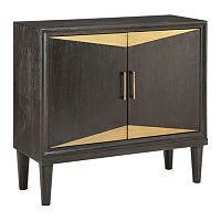 Madison Park Metallic 2-Door Storage Chest