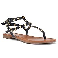 Candie's® Women's Strappy Studded Sandals
