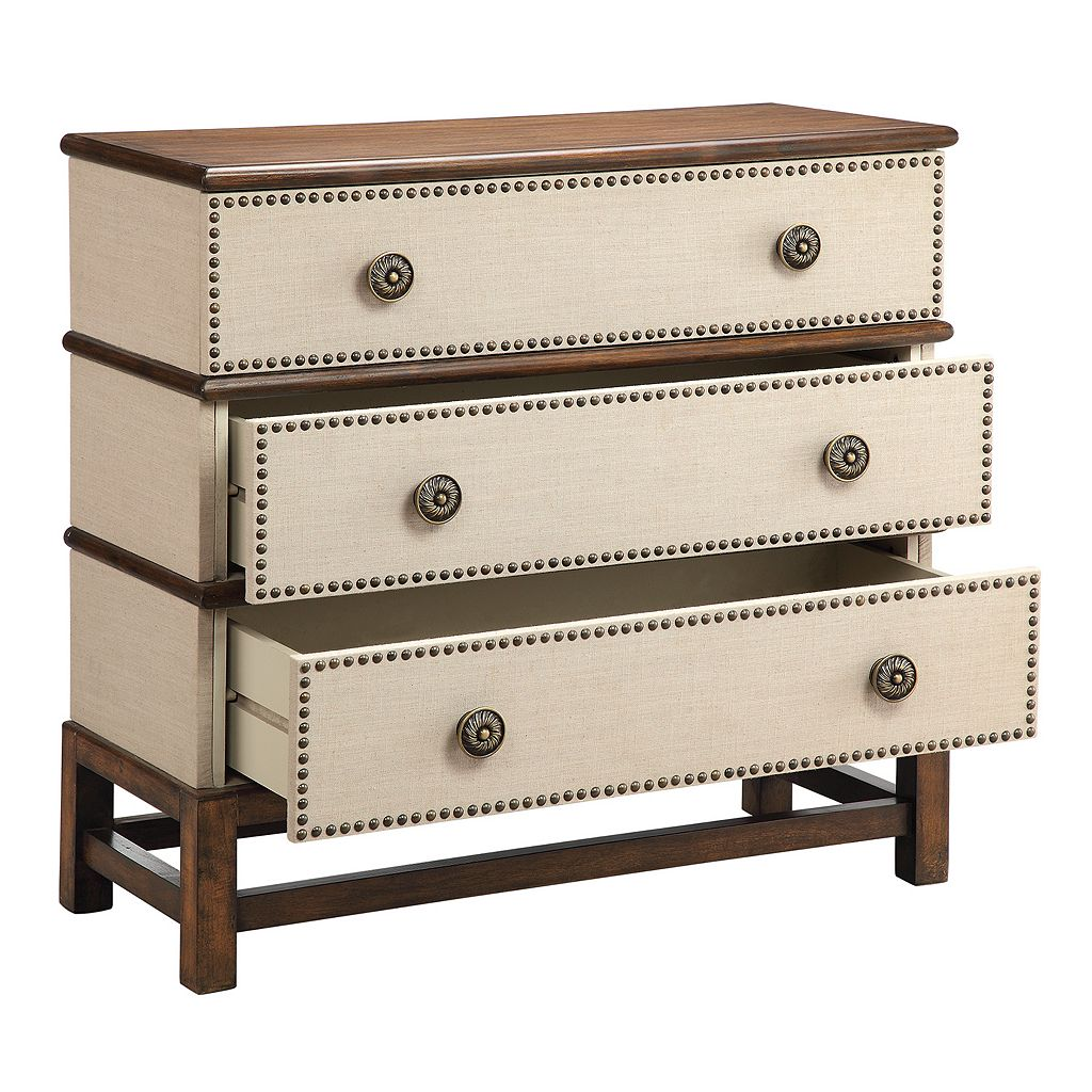 Madison Park Embellished 3-Drawer Storage Chest