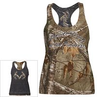Women's Realtree Flyer Reversible Camo Tank Top