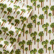 Grand Collection Seaside Microfiber Print Sheet Set