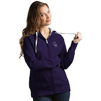 Women's Antigua Colorado Rockies Victory Full-Zip Hoodie