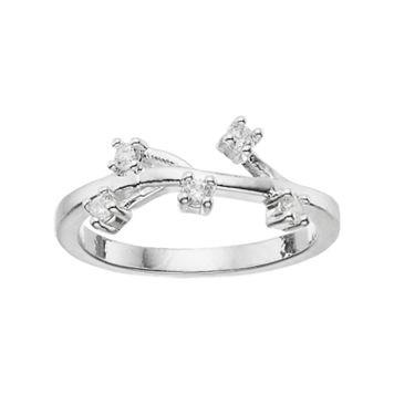 LC Lauren Conrad Branch Midi Ring