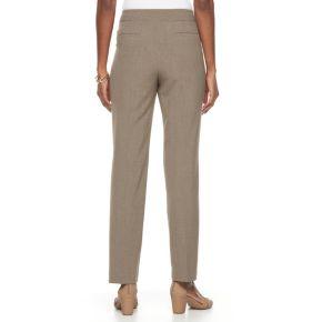 Petite Croft & Barrow® Polished Pull-On Pants