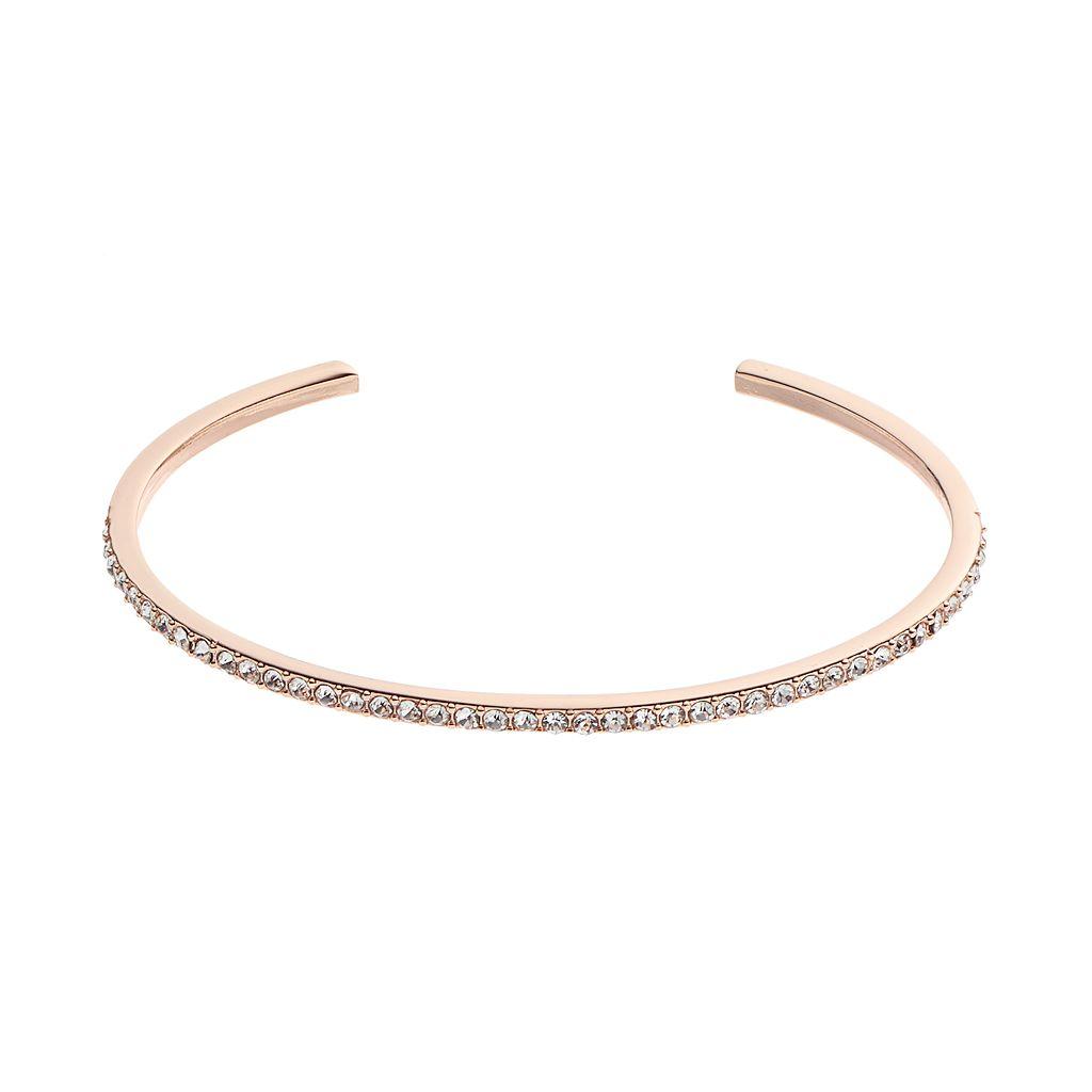 LC Lauren Conrad Pave Cuff Bracelet