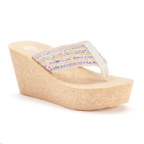 Unleashed by Rocket Dog Dandelion Women's Wedge Sandals