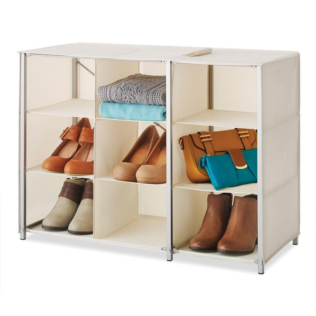 Whitmor 9-Section Collapsible Closet Shelves