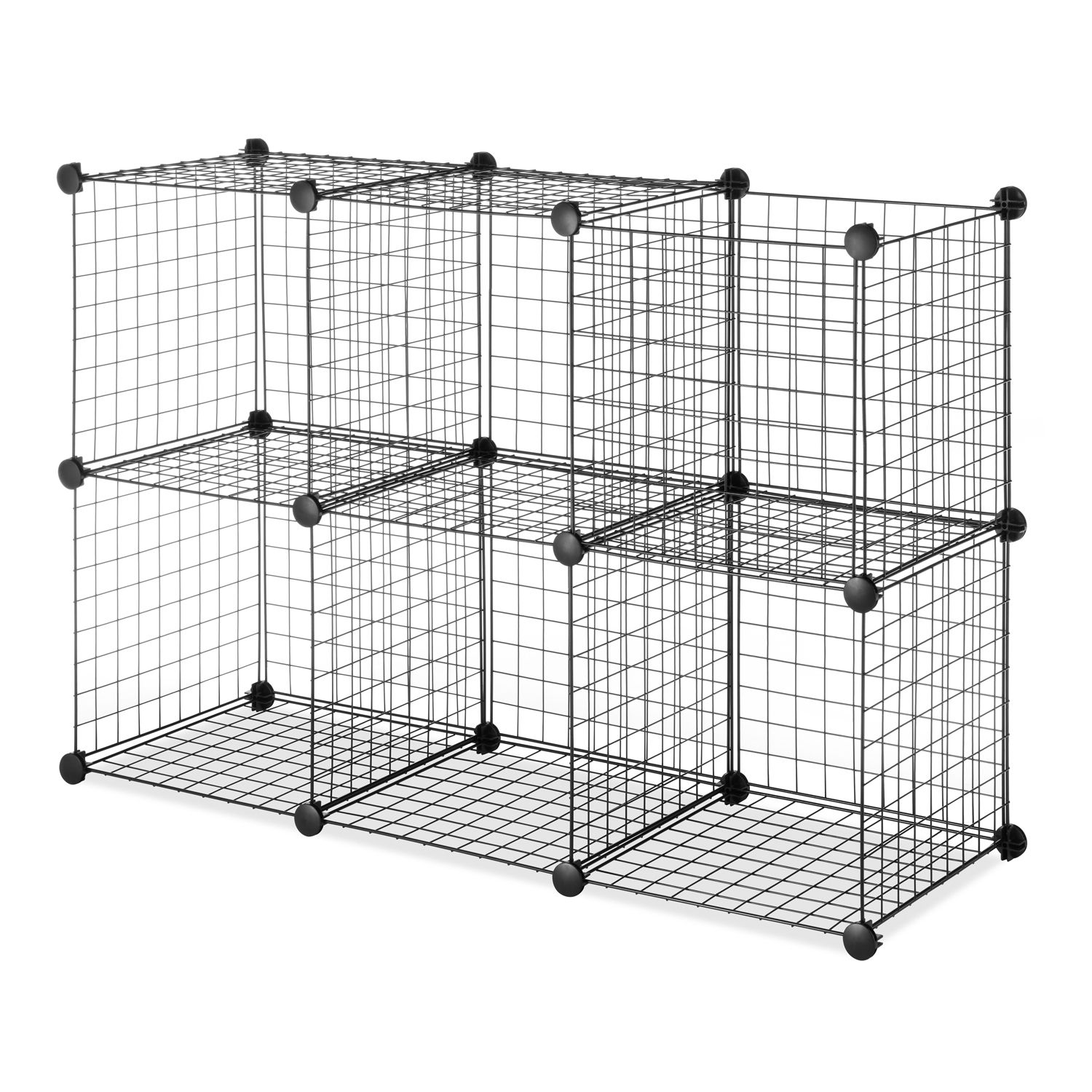 Perfect Whitmor 6 Pack Wire Storage Cubes