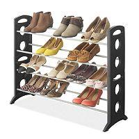 Whitmor 20-Pair Floor Shoe Rack