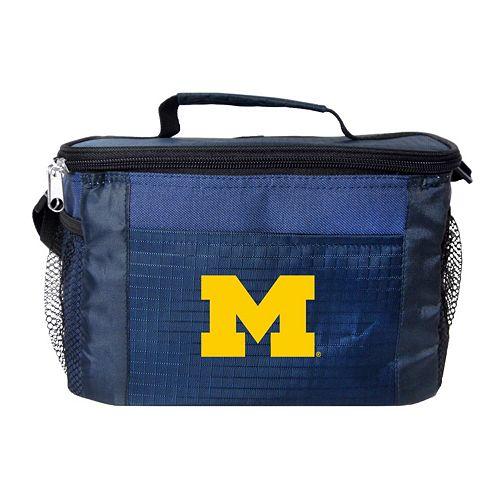 Kolder Michigan Wolverines 6-Pack Insulated Cooler Bag